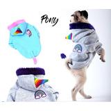 Abrigo Buzo P/ Perro Pequeño Pony Dino X-dog Gap + Regalo!
