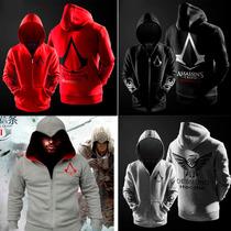 Jaqueta Moleton Slim Fit Assassins Creed + Frete Grátis