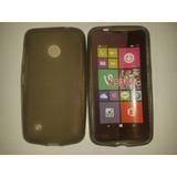 Forro Goma Nokia N530 Color Humo ¡somos Tienda Física!