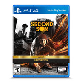 Juego Sony Infamous Second Son Ps4-favoritos