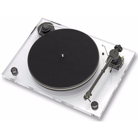 Toca Disco Vinil Pro Ject 2xperience Primary Acryl 2m Red