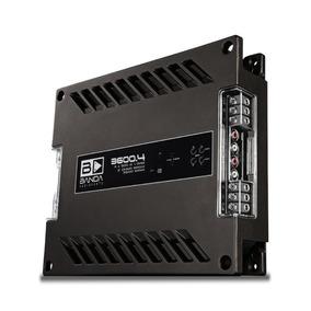 Módulo Amplificador Banda 3600.4 3600 Wrms 4 Canais