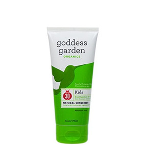Goddess Garden Organics Kids Spf 30 Natural Sunscreen, Lotio