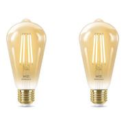 Lampara Led Wiz Wifi Filamento Edison E27 6.9w X2 Unidades