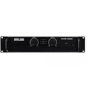 Amplificador Potencia Estéreo 200w Rms Mark Audio Mk1200/b