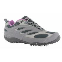 Zapatillas De Trekking Dama Hi Tec Waterproof - Impermeables