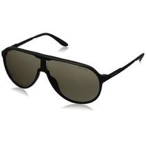 Gafas De Sol Carrera Newchs Aviator- Lente Negro Marco Negr