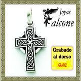 Dije Cruz Celta San Patricio Plata