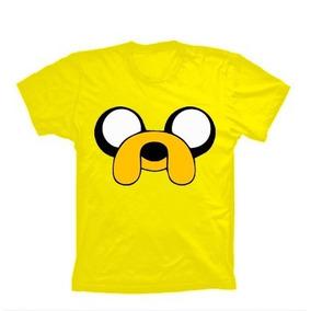 Camiseta Jake Hora De Aventura - Camisa Finn, Marceline