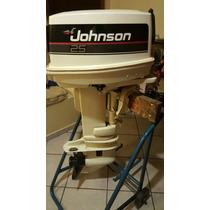 Motor Popa Johnson 25 Hp Estado De Zero