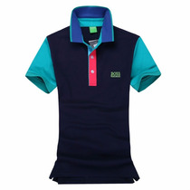 Camisa Polo Hugo Boss Slim Fit Masculino - Original