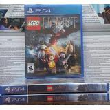 Ps4 Lego Hobbit Nuevo Sellado
