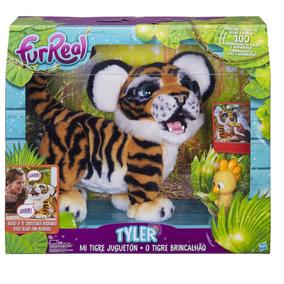 Furreal Tigre Lino Tiger Hasbro