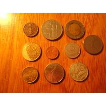 Lote De 10 Monedas Italianas Cd 42