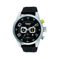 Branzi B020787 Reloj De Cuarzo Analógico Pulsador Amarillo N
