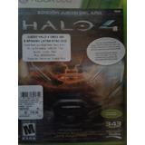 Halo 4 Xbox 360 Edición Especial Contenido Xbox One 2 Discos