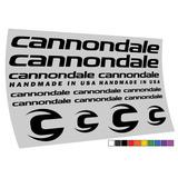 Adesivo Cannondale Mtb Speed 10 Cores Frete Gratis