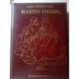 Libro Martin Fierro De Jose Hernandez Ilustrado Edi.ruy Diaz