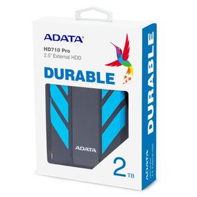 Disco Duro Externo Adata 2tb Hd710p Azul Antigolpes