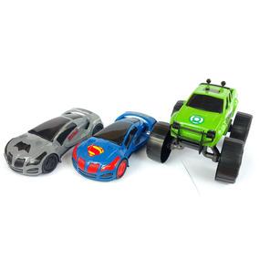 Carrinho Batmóvel , Superman E Lanterna Verde - 3 Unidades