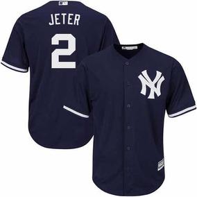 Camisa De Baseball New York Yankees Majestic Navy Alternate d36e6f878cb76