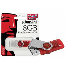 Pen Drive De 8gb Kingston Pacote Com 20 Unidades