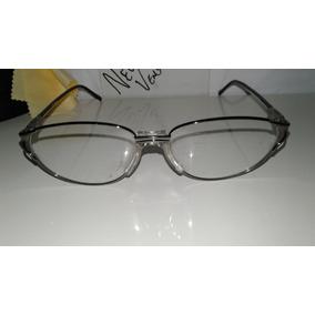 Armação Oculos Grau Titanium Dourada Bifocal Meio Aro A796. São Paulo ·  Armação Feminina Com Ponte Para Bifocais   Modelo 3ª Idade bf70d7c7fb