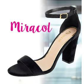 Zapatillas Abiertas Modelo Miracol 6424