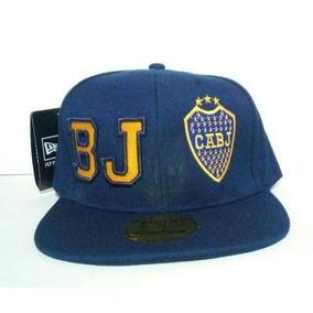 Gorra Boca Juniors New Era Snapback Vicera Plana