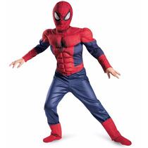 Disfraz Spiderman Hombre Araña Musculos Original 12 Cuotas