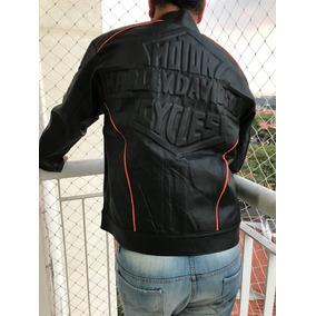Jaqueta De Couro Masculino Harley Davidson. Couro Legítimo