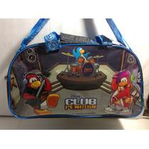 Bolso Club Penguin Disney Envio Sin Cargo Caba