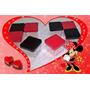 30 Caixas Acrílica 4x4 Cm Festas - Minnie Lembrancinhas