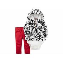 Conjunto Carters 3 Piezas Abrigo,legging,pañalero