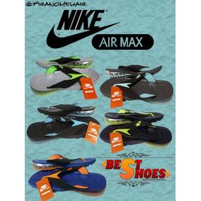 Chinelos Nike Air Max 2017 - 12x S/juros - Venda Em Atacado.