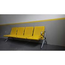 Cadeira Longarina Aeroporto 4 Lugares Coloridas Sob Encomend