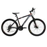 Bicicleta Lahsen Xt 9009 Titanio Mtb Aro 26 Aluminio