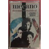 Mecano (descanso Dominical) Cassette Negro Primera Edicion