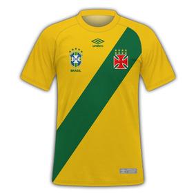 16951cf3472ce Camisa Do Brasil Personalizado Com O Nome E Numero Escolher ...
