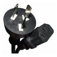 Cable Power Alimentacion 220v Pc Impresora Monitor