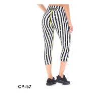 Calzas Touche Deportivas Mujer Sport Lycra Mujer Gym Cp 57
