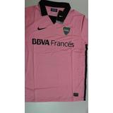 Camiseta Oficial Boca Juniors 2014 Rosa Dama Talles M, L, Xl