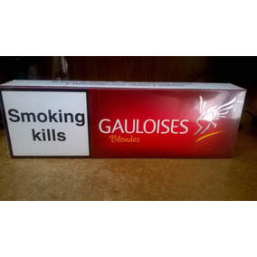 Cigarrillos Gauloises Rojos Importados 10 Box De 20 Lleno!!!