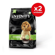 Alimento Perros Cachorros Infinity Premium Pack 2 X 10 Kgs