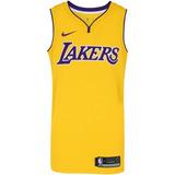 e130dbd12c Camisa Regata Nike Nba Los Angeles Lakers Home Blnk - Mascul