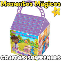 10 Cajitas Feliz Souvenirs Doctora Juguetes Golosinera