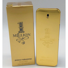 Perfume One 1 Million Paco Rabanne Edt 200ml 100% Original