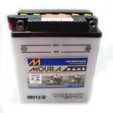Bateria Honda Cb 450 Dx Cbr450 Moura Mv12-e Yb12a-a
