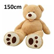 Urso De Pelúcia Fofão Gigante 150 Cm - 1,50 Mts Já Vai Cheio
