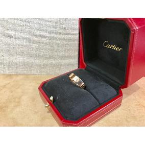Anillo Cartier Love 9cito Oro Rosa 18k # 8 3/4 Sub Chan Tif